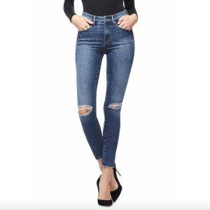 Good American distressed Good Legs skinny jeans